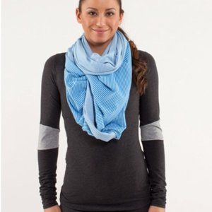 LULULEMON Bright Blue Vinyasa Scarf